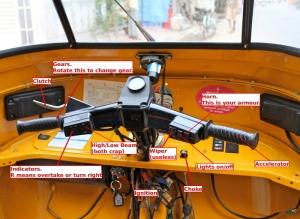 rickshaw controls